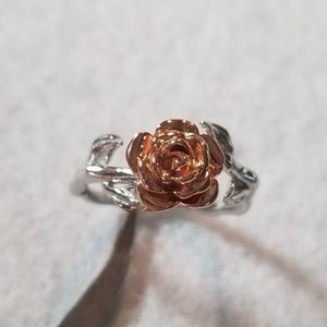 Jewelry - Sterling & 18k Rose Ring